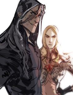 Melkor and Sauron ^_^