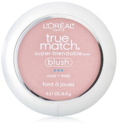 L'Oreal Paris True Match Super-Blendable Blush, Tender Rose, 0.21 Ounce for only $8.59 You save: $2.36 (22%)