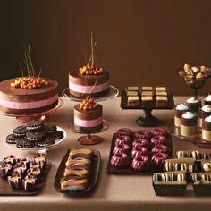 Mini Chocolate Bundt Cakes - Martha Stewart Weddings Inspiration