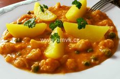Chana Masala, Risotto, Curry, Food And Drink, Pork, Sweet, Ethnic Recipes, Fitness, Red Peppers