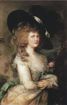 Georgiana, Duchess of Devonshire by Thomas Gainsborough. Chatsworth – the most impressive of the lot – Georgian Gentleman