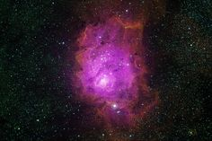 Lagoon Nebula of the Day 2: M8 Narrowfield Mapped Color HaOSIIOIII to RGB - Nov 22, 2013 | Flickr - Photo Sharing!