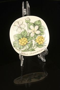 Arabia Finland Wall Plate Cloudberry Rubus Chamaemorus, Esteri Tomula Plates On Wall, Finland, Table, Home Decor, Decoration Home, Room Decor, Tables, Home Interior Design, Desk