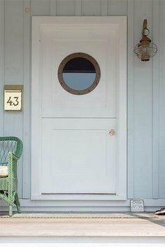 Beach House Door