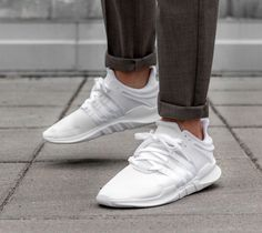 932f2b6b0c96 cheap adidas equipment support adv all white shoes   trainers sale uk