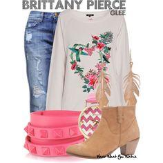 Inspired by Heather Morris as Brittany Pierce on Glee. Glee Fashion, Fandom Fashion, Fashion Looks, Fashion Outfits, Fashion Ideas, Casual Outfits, Cute Outfits, Movie Outfits, Sophisticated Outfits