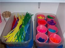 The Montessori on a Budget blog: Setting up your Playroom: Inexpensive Montessori Style!