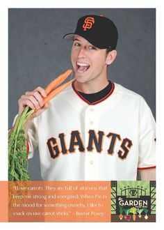 Buster Posey's health tip