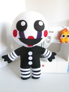 Marionette Plush Inspired by Five Nights at by FabroCreations