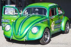 Capitaine Caverne VW Oval Classic Beetle Tuning Super VW Festival Le Mans 2015