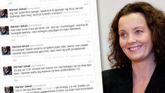 Sunniva Ørstavik og Twitter-meldinger - Likestillings- og diskrimineringsombud Sunniva Ørstavik sier hun er imponert over motet til alle som...