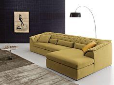 Corner fabric sofa bed COLLINS | Corner sofa - Ditre Italia