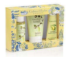 Love, love, love Crabtree & Evelyn! This is a great combo that I want in my half bathroom, for my guests to enjoy.