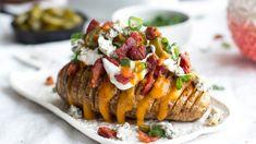 Plněné brambory Hasselback Foto: