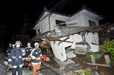 Terremoto de Kyushu, 4 mortos e mais de 400 feridos