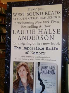 Laurie Halse Anderson visited the PNW earlier this month!