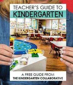 At The Kindergarten Collaborative we: guide your time online talking about teaching to make it more meaningful, collaborate with you and experts in a whole new way to take your teaching to the next level, participate in professional development that is tailored for your early childhood classroom, receive monthly printables and downloads to use with your students so you can be successful right away, ANNNND you get CLOCK HOURS for doing so! Let's start collaborating with this free guide to kinder.