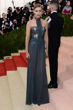 Explore the Met Gala dresses and celebrity outfits from the red carpet. See all the best dressed celebrities from the tech themed Met Ball 2016.