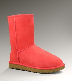 Coral Ugg Boots - I never thought I'd feel this way, but this is the first visually appealing pair of Uggs to me. Miracles do happen!