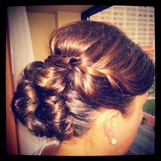 #braid #updo #hairstyle