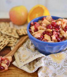 Apple and Cranberry Charoset for Passover via LittleFerraroKitchen.com by FerraroKitchen1, via Flickr