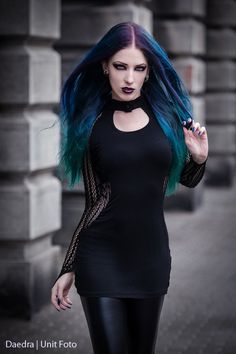 Model, make-up, edit: Daedra Tunic: Dark in love Photographer: Unit Foto Welcome to Gothic and Amazing |www.gothicandamazing.com