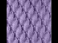 This pattern looks best with two strongly contrasting colors, however which color you choose for the main color will make a difference. Two-color Stitch Patt. Rib Stitch Knitting, Knitting Stitches, Crochet Baby, Knit Crochet, Romanian Lace, Stockinette, Baby Knitting Patterns, Cross Stitch, Sewing