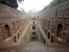 There are no historical records to prove who built Agrasen ki Baoli in New Delhi, the 60m-long and 15m-wide historical stepwellis designated a protected monument by the Archaeological Survey of India