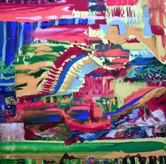 Tooi, schilderij van Kuhlmann Kunst, Twan Kuhlmann | Abstract | Modern | Kunst