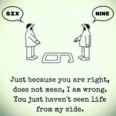 A bit of truth to help you see the world slightly different.