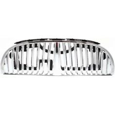 1998-2002 Lincoln Town Car Grille, Chrome Shell/argent