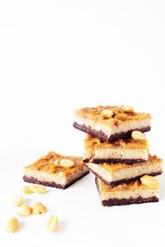 Wtym przepisie mała porcja słodkości idawnych smaków.Orzechowo-czekoladowe snikersy.Bezpieczenia ibez glutenu. Większość batonów dostępnych wzwykłych polskich sklepach, czyto osiedlowych czyhipermarketach, niejest wegańska. Czasem, jak się trafi, będzie tobatonik nabazie orzechów lub płatków owsianych sklejonych haniebnym syropem… Read More