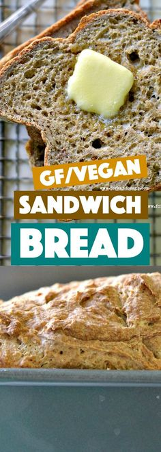 Gluten Free Vegan Bread - Fork and Beans
