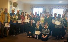Springhill Care Home's Caring Heroes wear badges with pride - Springhill Care Group Lancashire