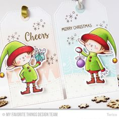 STAMPARADISE: Holiday Tags