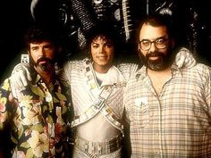 CaptainEO☆ George Lucas , Michael Jackson with Francis Ford Coppola