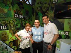Ancora scolaresche... Visita di una associazione simile alla nostra ma in Argentina...Si continua  a giocare a calcetto... #Anteas #CascinaTriulza #Expo2015