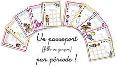 Le VISA du comportement : mon futur système de gestion de classe sur le thème du voyage !
