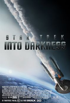 Star Trek Into Darkness (2013) Poster Watched last weekend in IMAX 3D and it is unbelievably good! I have watched many films in 3D but this was shot in IMAX 3D format and the depth, wow! And the characters are more developed. Worth watching at the cinema.