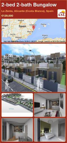 2-bed 2-bath Bungalow in La Zenia, Alicante (Costa Blanca), Spain ►€129,000 #PropertyForSaleInSpain