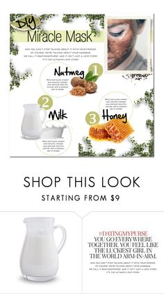 """""""DIY Miracle Mask"""" by lalalaballa22 on Polyvore featuring beauty, Sur La Table, Kate Spade and facemasks"""
