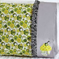 Pillowcase Friday! - Inspired by Fabric---cute
