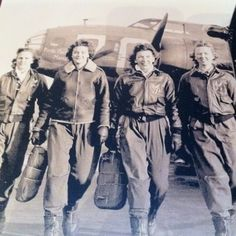 Women airforce service pilots, WWI