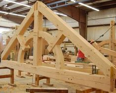 May Raising, Hough Builders   Timber Frame Case Study