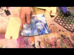 Scrap Time - Gelli Arts Printing Plates with Ronda at The Crafter's Workshop