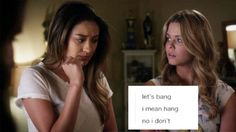 Pretty Little Liars: Emison Meme