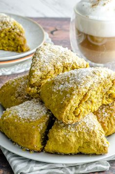 If you love pumpkin just as much as we do, these Maple Pumpkin Scones are for you! This no fuss recipe is super easy and ready in 30 minutes. Vegan Sweets, Vegan Desserts, Pumpkin Recipes, Fall Recipes, Cookie Recipes, Brunch Recipes, Breakfast Recipes, Vegan Breakfast, Pumpkin Scones