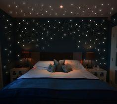 355 Stk Leuchtsterne Sterne fluoreszierend M1172 von deinewandkunst auf DaWanda.com