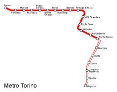 La #metropolitana di #Torino è un sistema di trasporto di massa che collega Torino con la vicina città di Collegno.