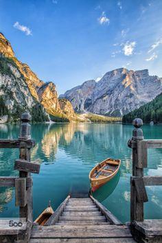Lago di Braies (Pragser Wildsee), Italy in Travel Italy